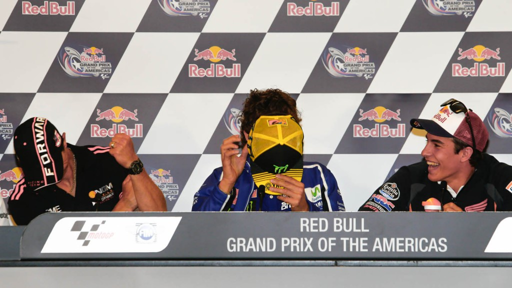 Red Bull Grand Prix of Americas Press Conference