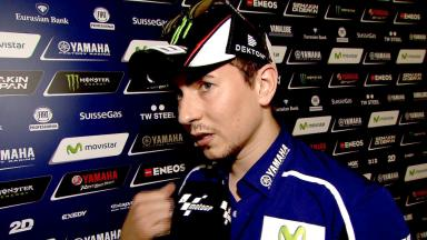 Jorge Lorenzo on contract situation and more
