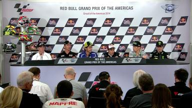 Red Bull Grand Prix of The Americas: Pre-event Press Conference