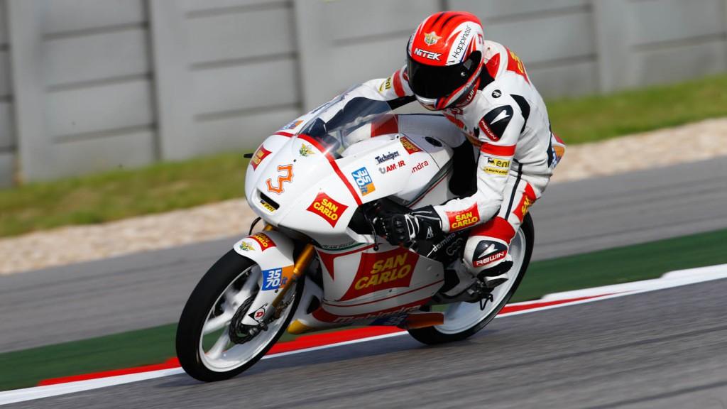 Matteo Ferrari, San Carlo Team Italia, FP2