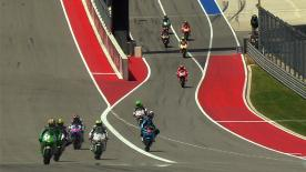MotoGP™ World Champion Marc Marquez was fastest in both Friday free practice sessions at the Circuit of the Americas, ending FP2 a considerable 1.005s margin quicker than Andrea Dovizioso, whilst Dani Pedrosa was third best.