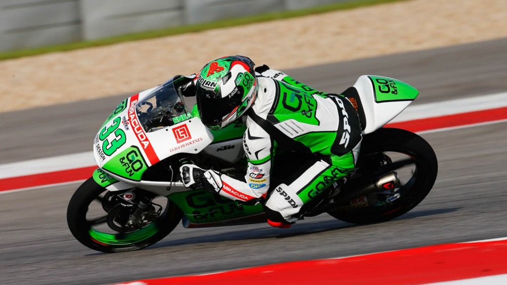 Enea Bastianini, Junior Team GO&FUN Moto 3, FP2