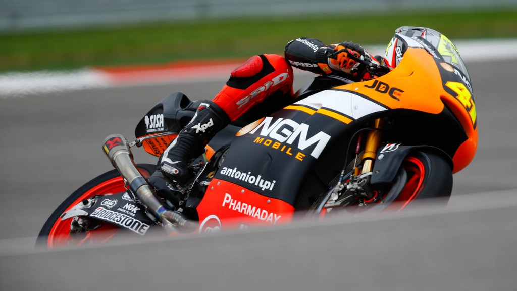 Aleix Espargaro, NGM Forward Racing, FP2