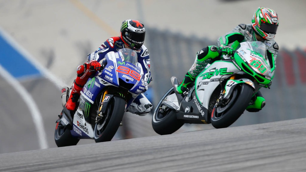 Jorge Lorenzo, Nicky Hayden, Movistar Yamaha MotoGP, Drive M7 Aspar, FP1