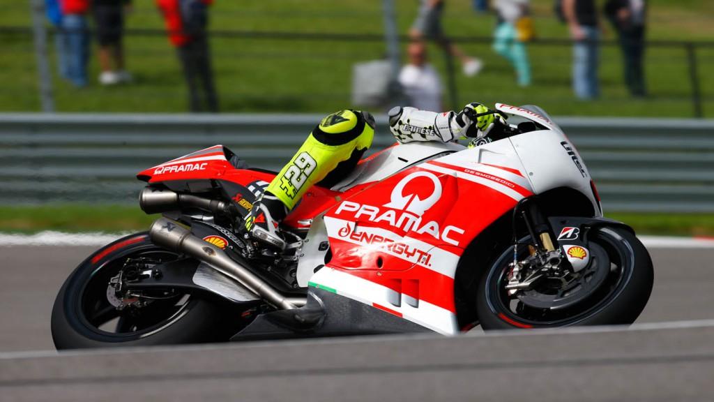 Andrea Iannone, Pramac Racing, FP1