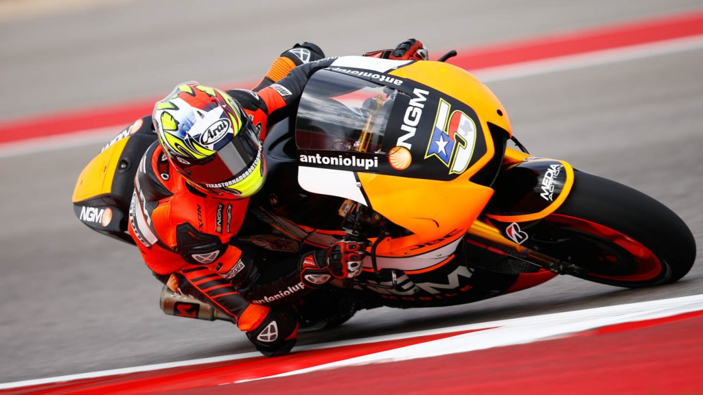 Colin Edwards, NGM Forward Racing, FP1