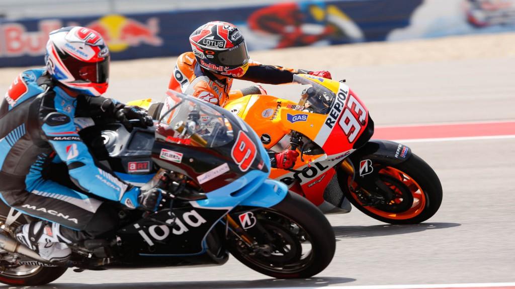 Danilo Petrucci, Marc Marquez, IodaRacing Project, Repsol Honda Team, FP3