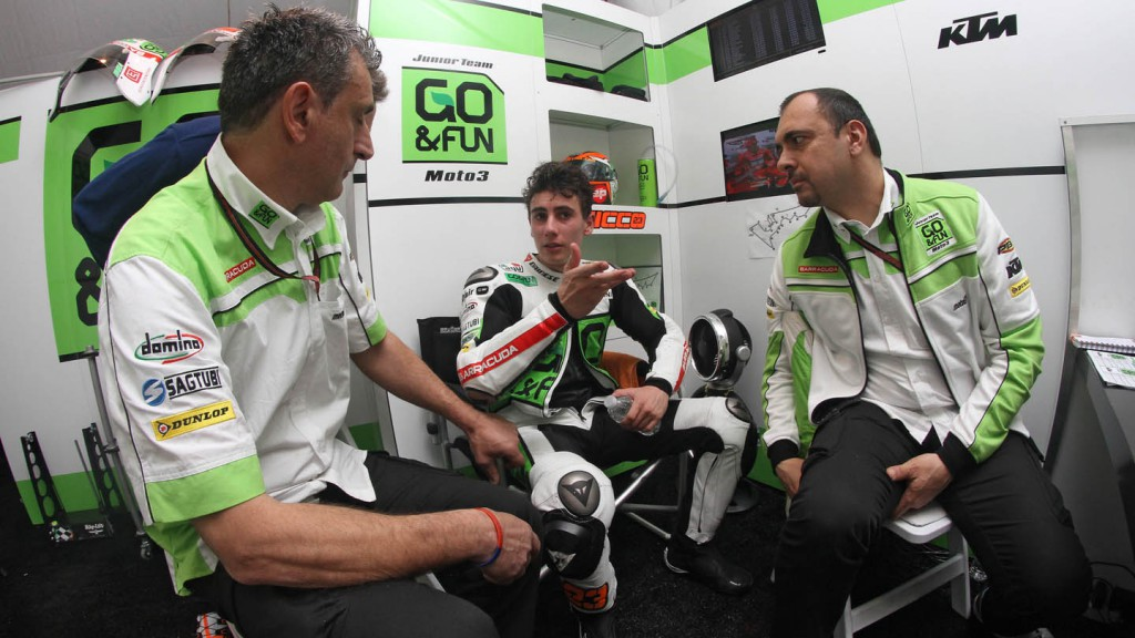 Niccolo Antonelli, Junior Team GO&FUN Moto3, QP