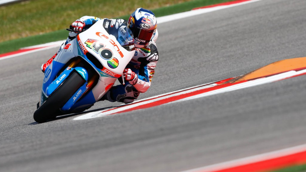 Maverick Viñales, Pons HP 40, FP3