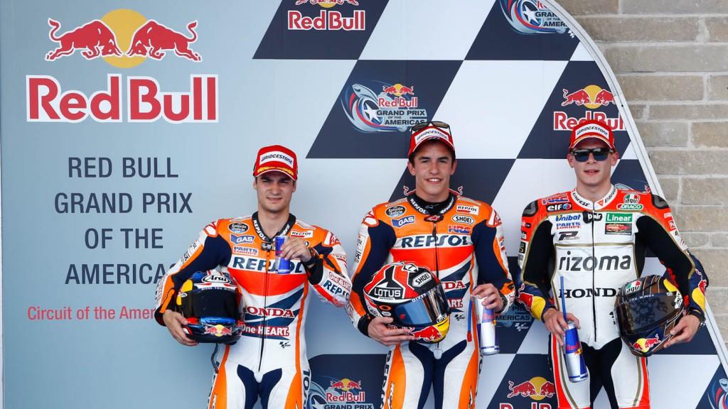 Pedrosa, Marquez, Bradl, Repsol Honda Team, LCR Honda MotoGP, Q2