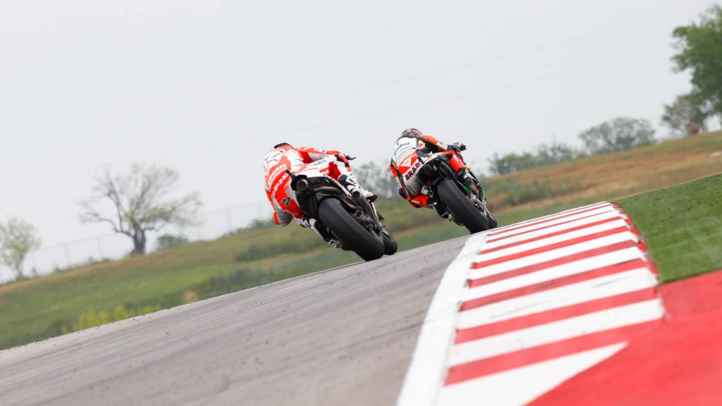 Dovizioso, Bradl, Ducati Team, LCR Honda MotoGP, Race