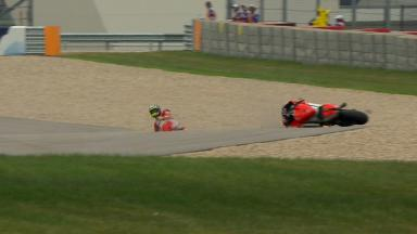 Americas 2014 - MotoGP - RACE - Action - Cal Crutchlow - Crash