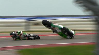 Americas 2014 - MotoGP - RACE - Action - Scott Redding - Crash