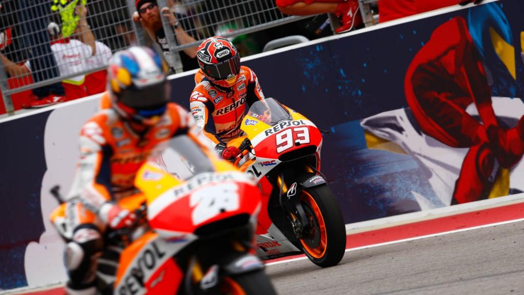 Pedrosa, Marquez, Repsol Honda Team, Race