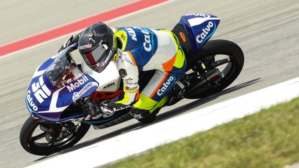 Isaac Viñales, Calvo Team, Race