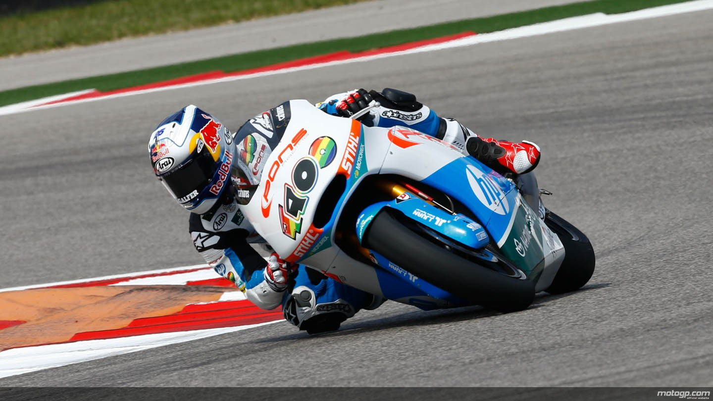 Hasil Race Moto2 Austin, 13 April 2014