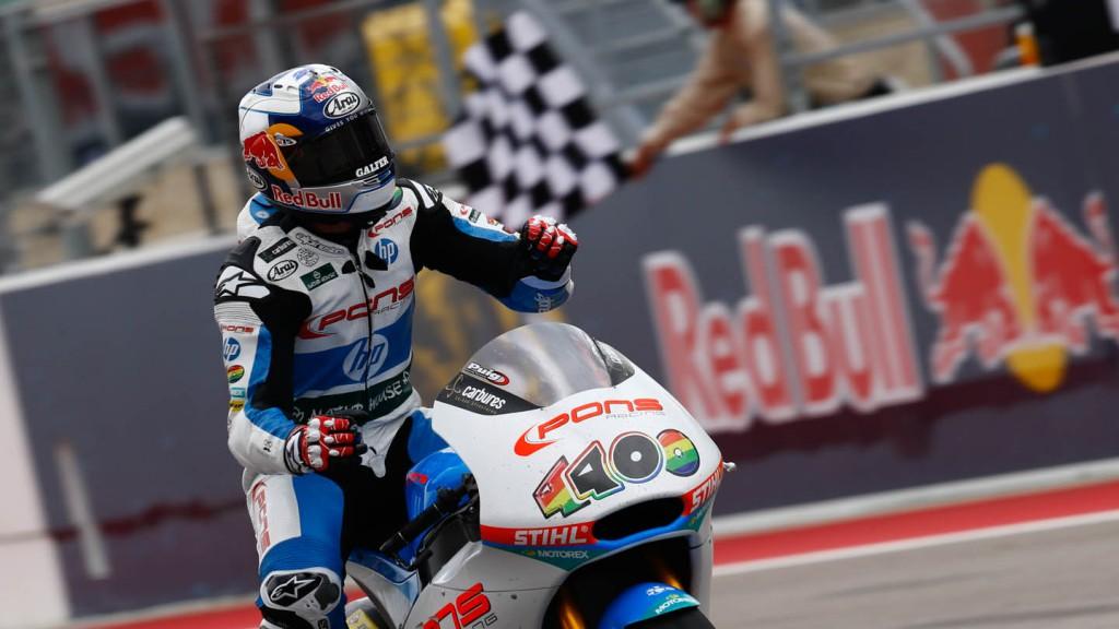 Maverick Viñales, Pons HP 40, Race