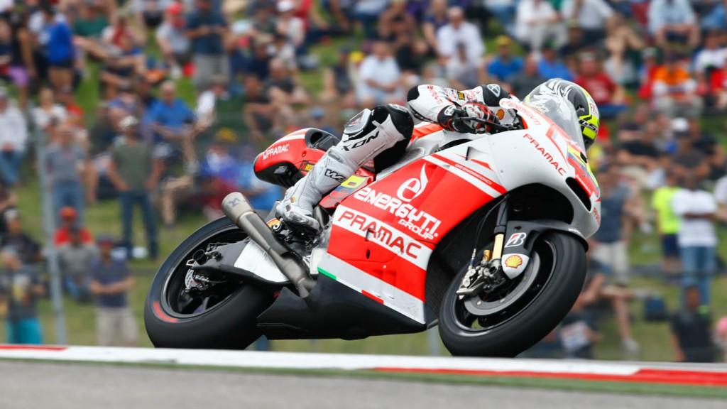 Yonny Hernandez, Pramac Racing, Race