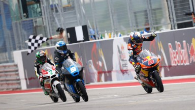 Finish line, Moto3, Race