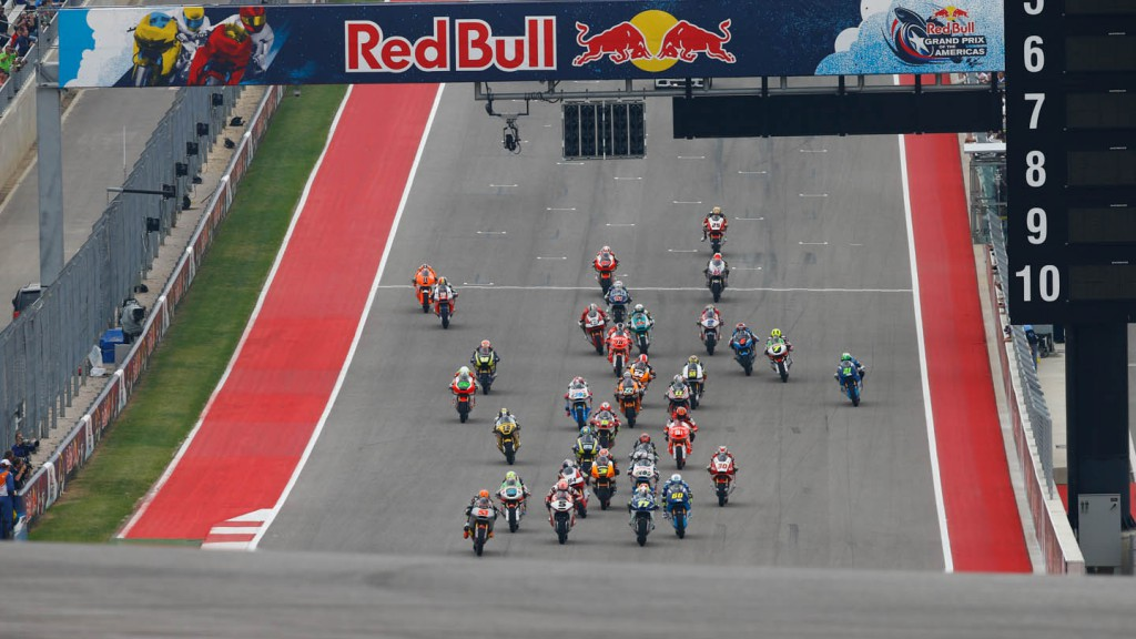 Moto2 Race start