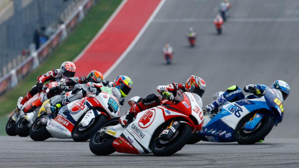 Moto2 group, Race
