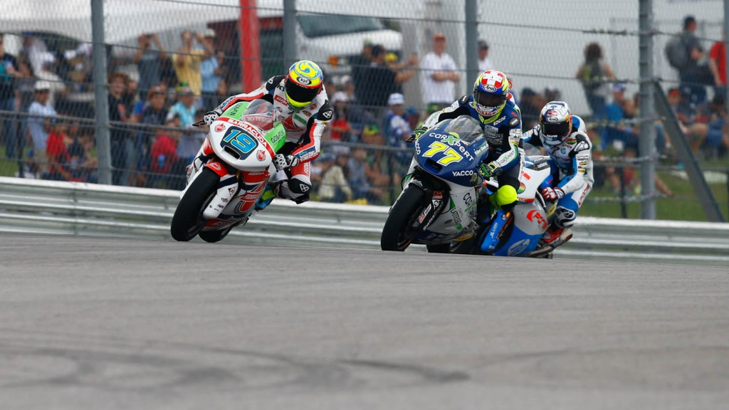 Moto2 group, Race