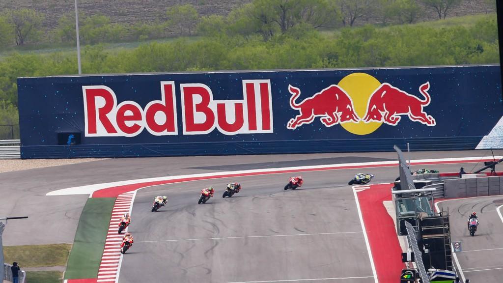 MotoGP race finish