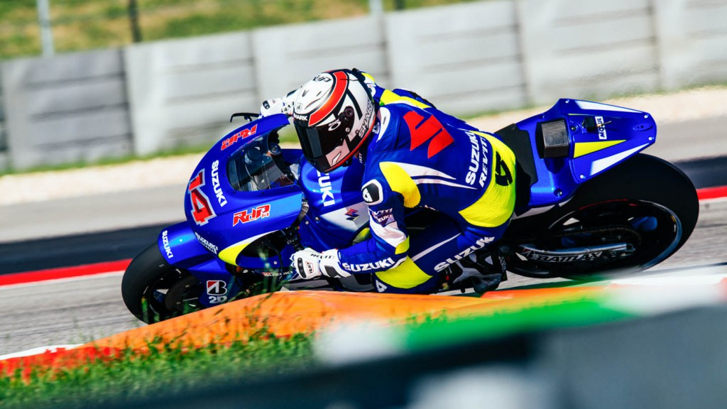Team Suzuki, Austin Test