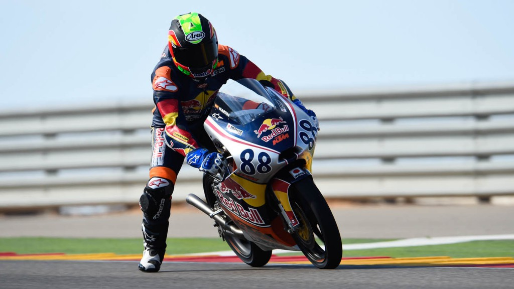 Red Bull Rookies Cup, Aragon Test
