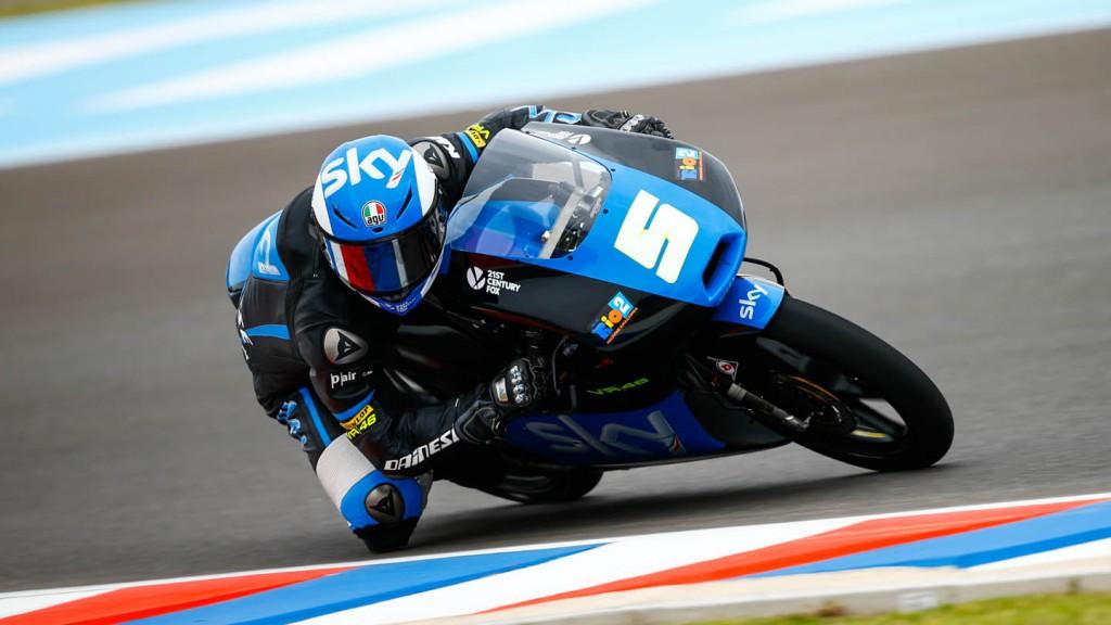 Romano Fenati, SKY Racing Team VR46, ARG FP2