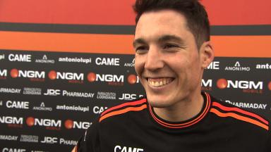 Aleix Espargaro really happy with Friday performance in Argentina