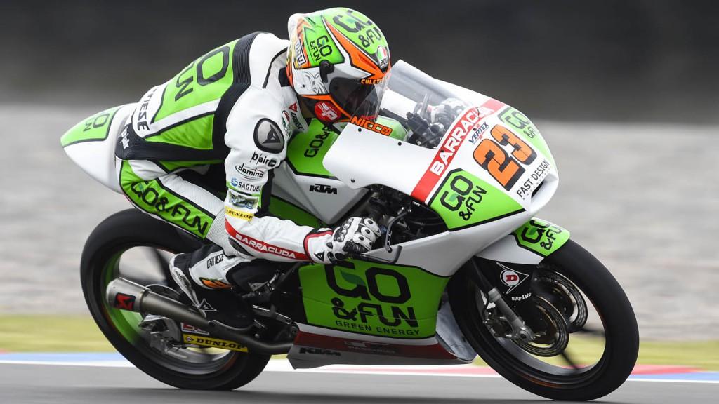Niccolo Antonelli, Junior Team GO&FUN Moto3, ARG FP2