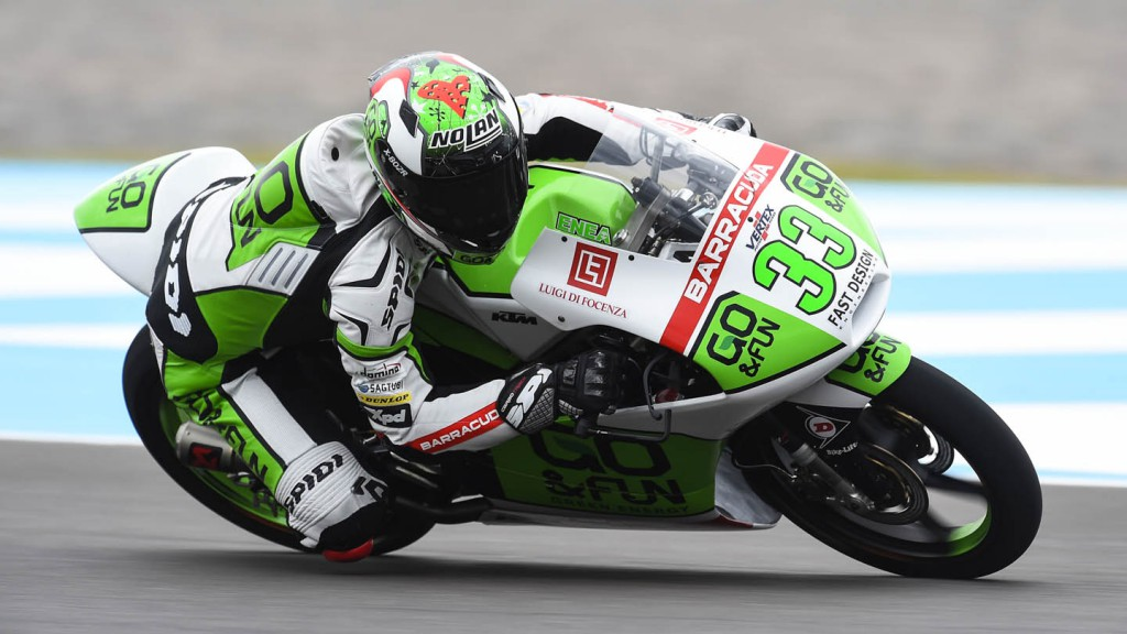 Enea Bastianini, Junior Team GO&FUN Moto 3, ARG FP2