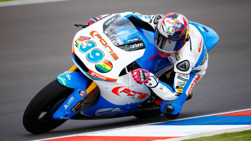 Luis Salom, Pons HP 40, ARG FP2