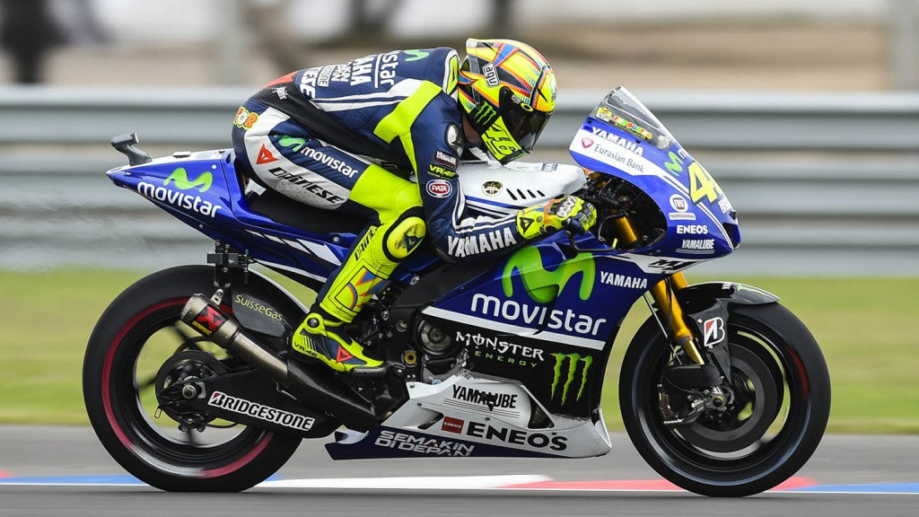 Valentino Rossi, Movistar Yamaha MotoGP, ARG FP2