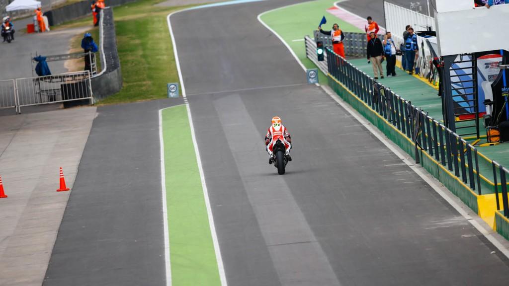 Michele Pirro, Ducati Team, ARG FP2