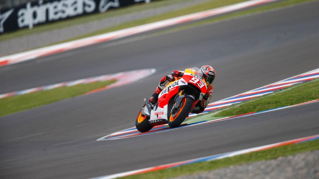 Marc Marquez, Repsol Honda Team, ARG FP2