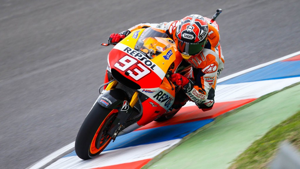 Marc Marquez, Repsol Honda Team, ARG FP1