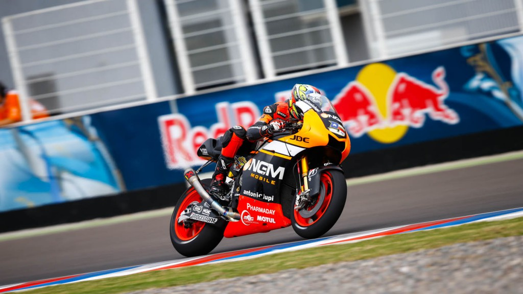 Colin Edwards, NGM Forward Racing, ARG Q1