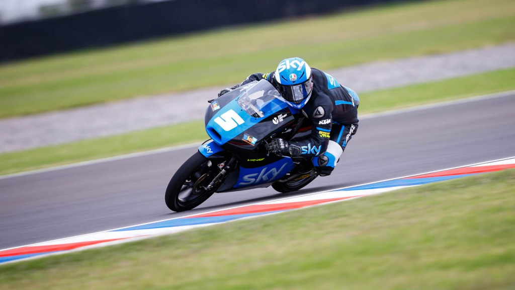 Romano Fenati, SKY Racing Team  VR46, ARG FP3