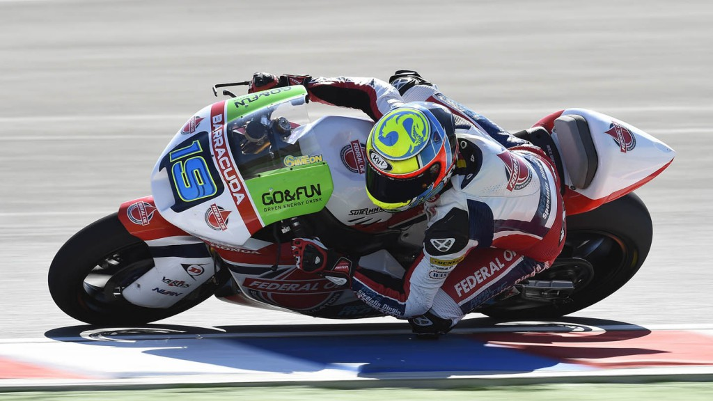 Xavier Simeon, Federal Oil Gresini Moto2, ARG QP