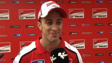 Dovizioso upbeat after making Saturday progress
