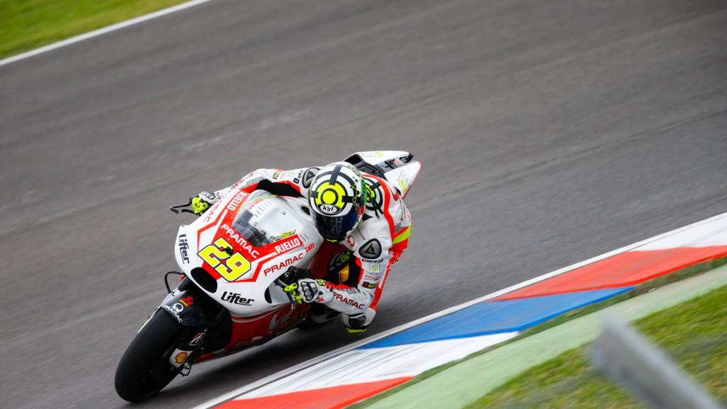 Andrea Iannone, Pramac Racing, ARG Q2