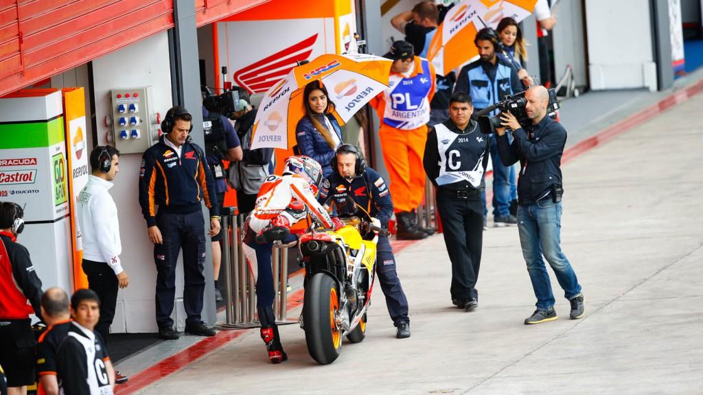 Marc Marquez, Repsol Honda Team, ARG FP4