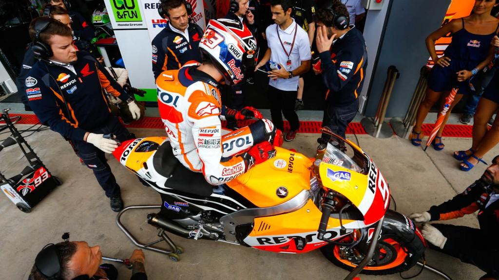 Marc Marquez, Repsol Honda Team, ARG Q2