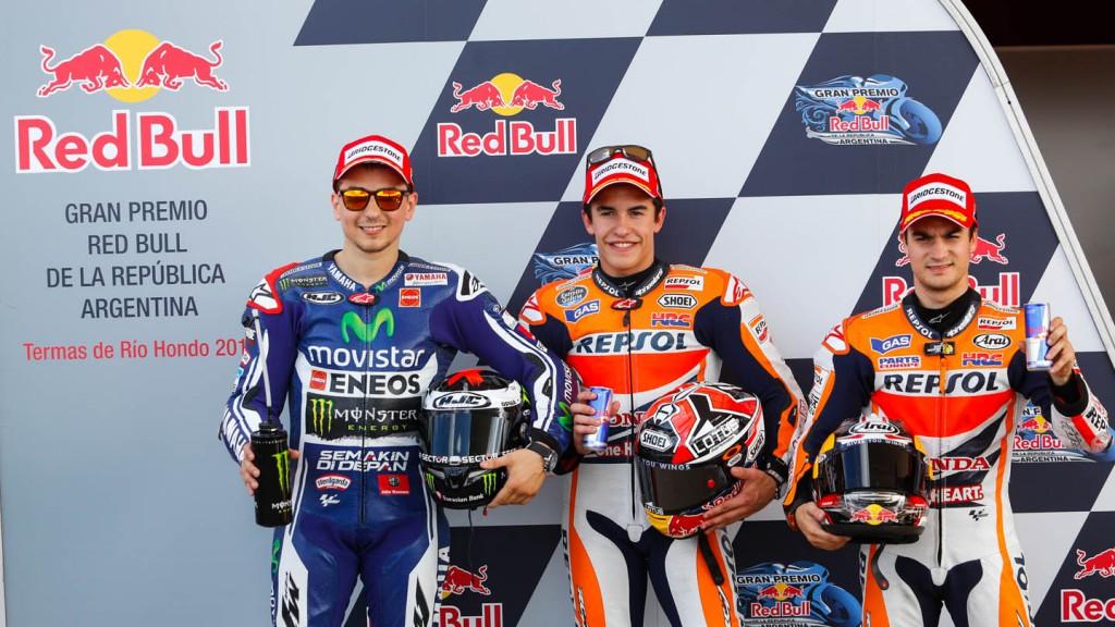 Jorge Lorenzo, Marc Marquez, Dani Pedrosa, Movistar Yamaha MotoGP, Repsol Honda Team, ARG Q2