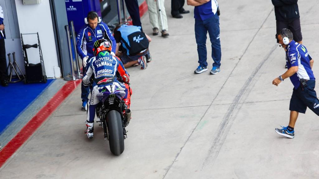 Jorge Lorenzo, Movistar Yamaha MotoGP, ARG, FP4
