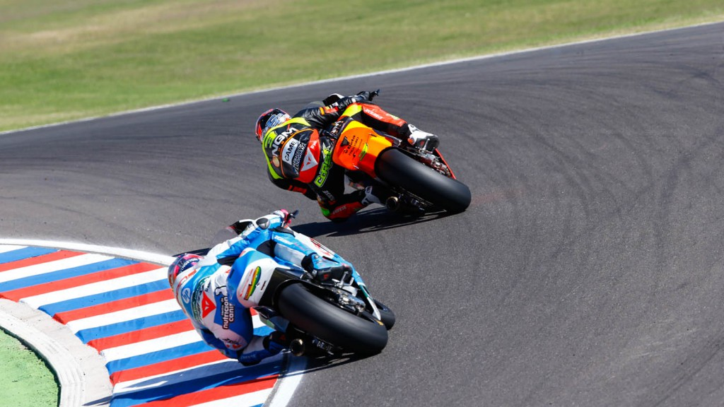 Simone Corsi, Luis Salom, NGM Forward Racing, Pons HP 40, ARG RACE