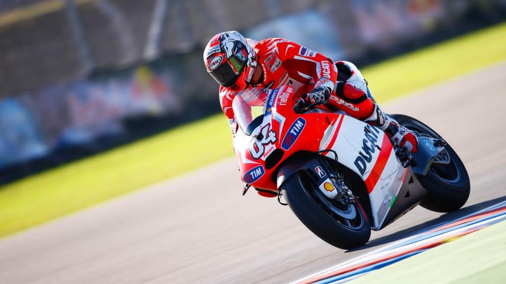 Andrea Dovizioso, Ducati Team, ARG RACE