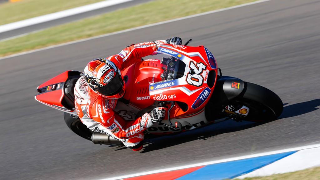 Andrea Dovizioso, Ducati Team, ARG WUP